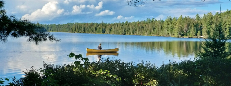 Canoeing in Algonquin